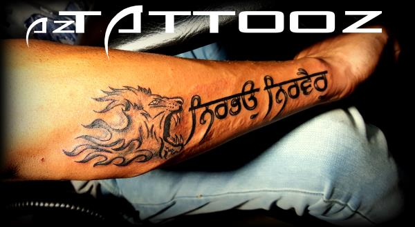 10 punjabi tattoos on shoulder Punjabi calligraphy font