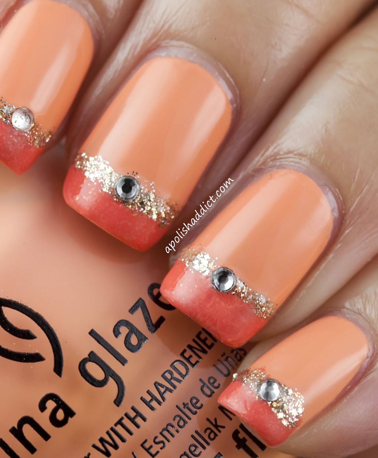 Nail Art Simple Designs: 60 Stylish Orange Nail Art Designs