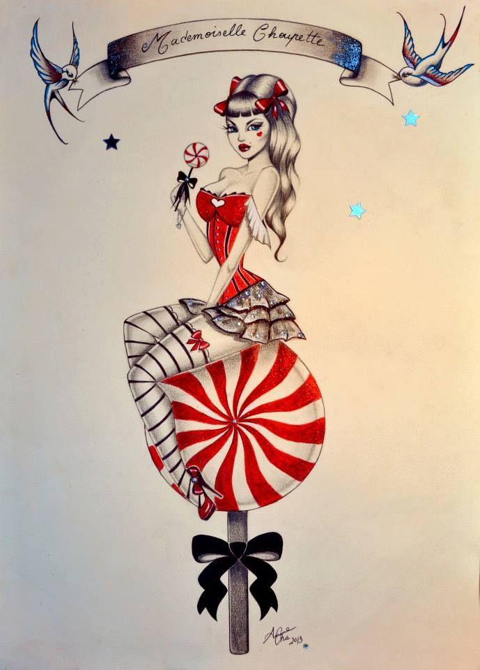 Ben noto 28+ Pin Up Tattoo Designs UN86