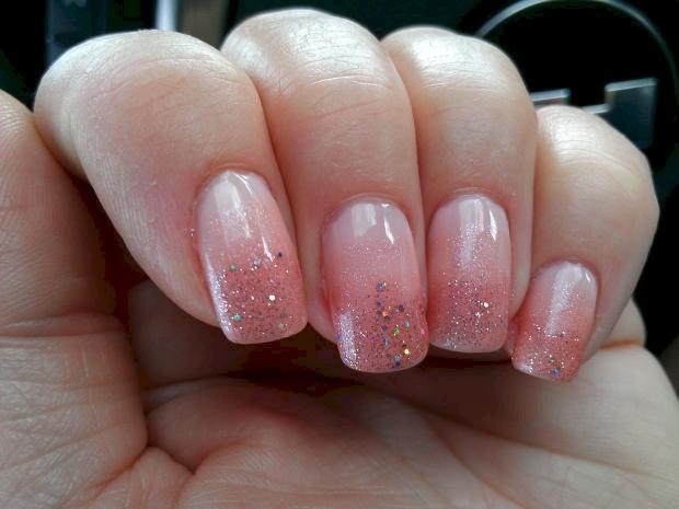 Gradient nail design image collections nail art and nail design 50 most beautiful gradient nail art design ideas pink glitter gradient nail art prinsesfo image collections prinsesfo Choice Image