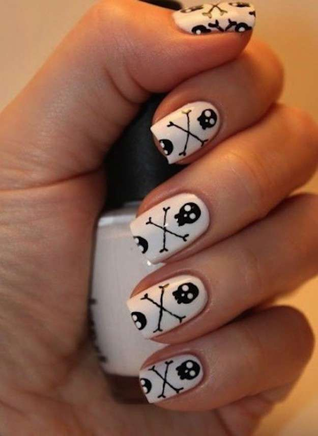 45 Most Beautiful Pirate Nail Art Designs For Trendy Girls