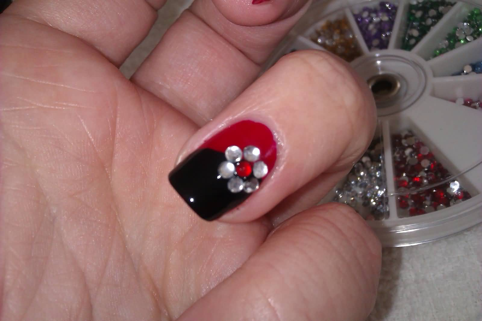 Nail art paintings nail art ideas 67 best red nail art design ideas prinsesfo Images