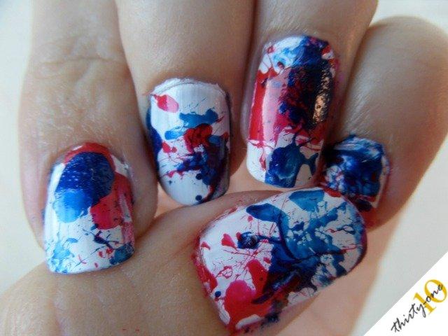 3d american flag acrylic nail art tutorial youtube.