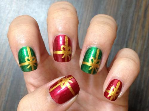 50 Most Stylish Christmas Nail Art Ideas