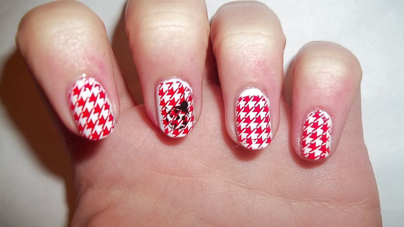 Images of red and white nail art nail art design red and white most beautiful red and white nail art design ideas view images prinsesfo Images