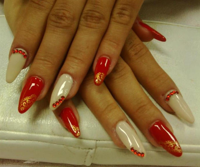 Nail art white and red gallery nail art and nail design ideas nail art designs white and red red white and blue nail art nail art designs white prinsesfo Choice Image