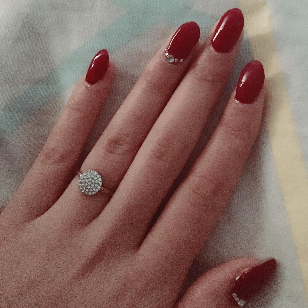 Red Nail Art: 50 Most Beautiful Red Nail Art Design Ideas
