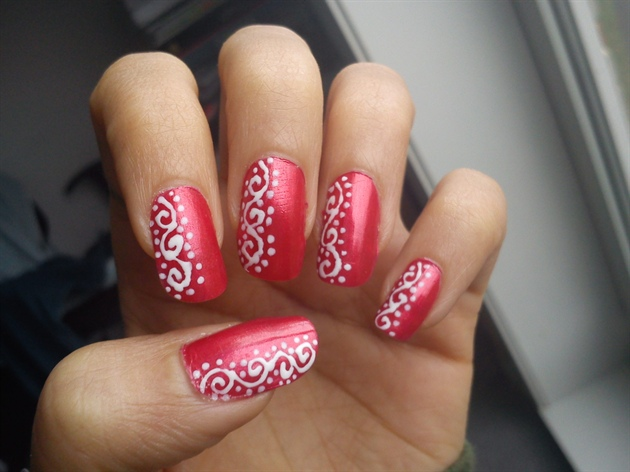 Nail Designs With Swirls Choice Image Easy Nail Designs For