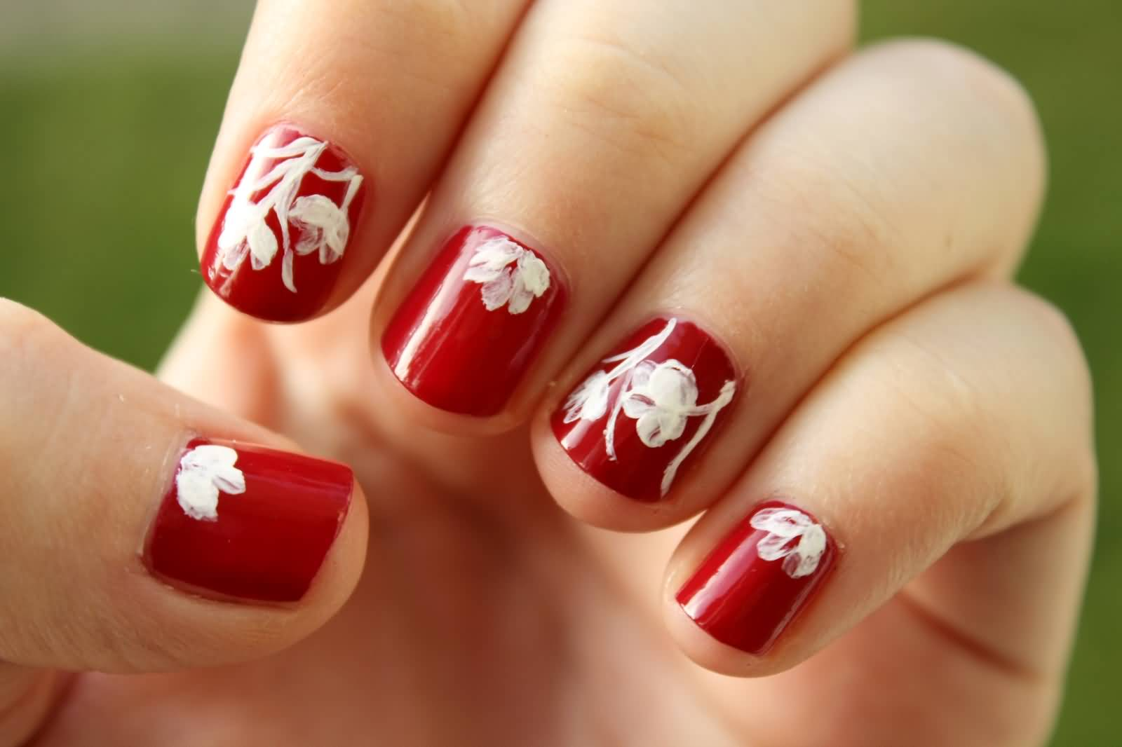 40 Elegant Short Nail Art Design Ideas
