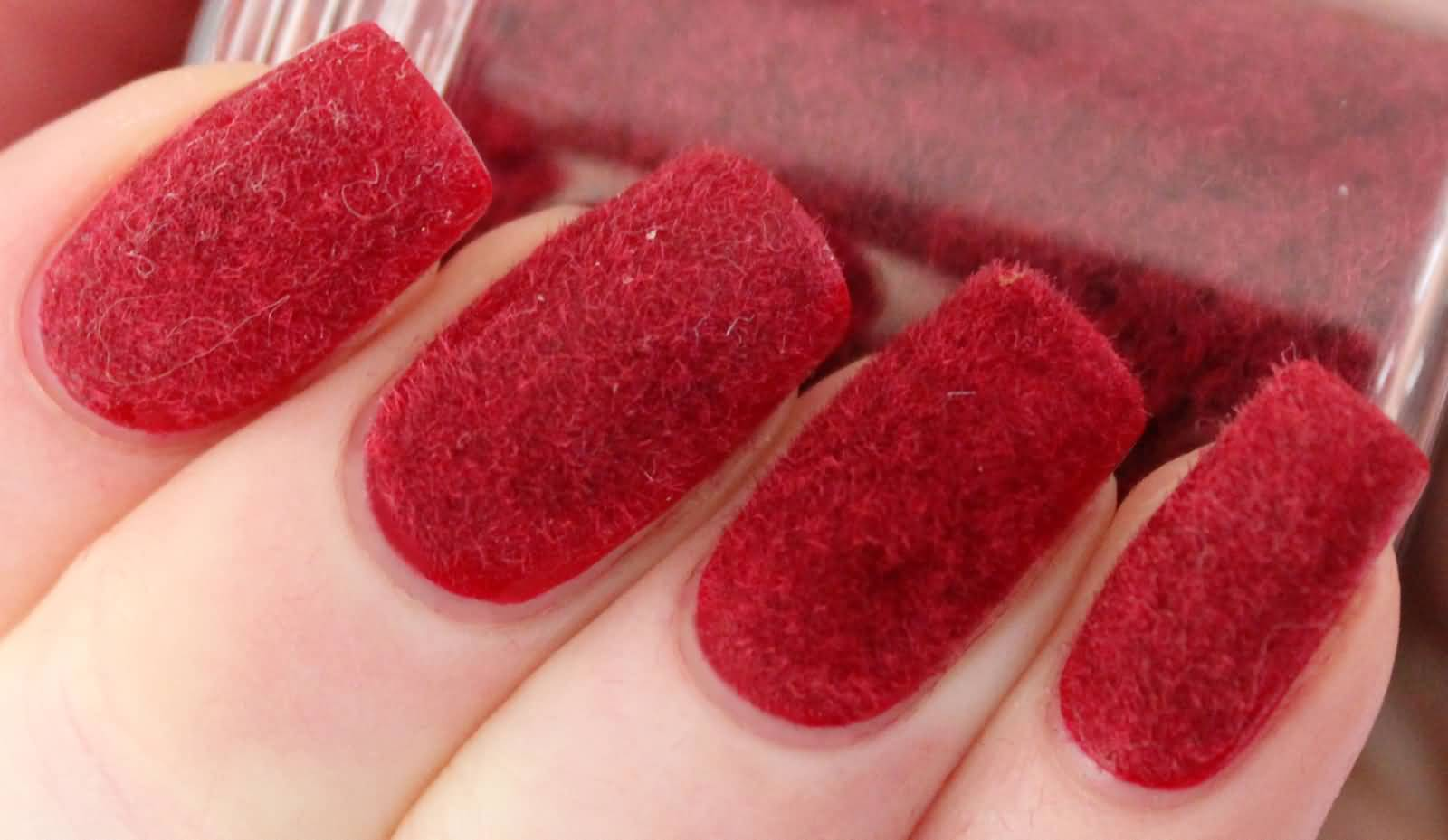 52 incredible red nail art design pictures red velvet nail art design idea prinsesfo Image collections
