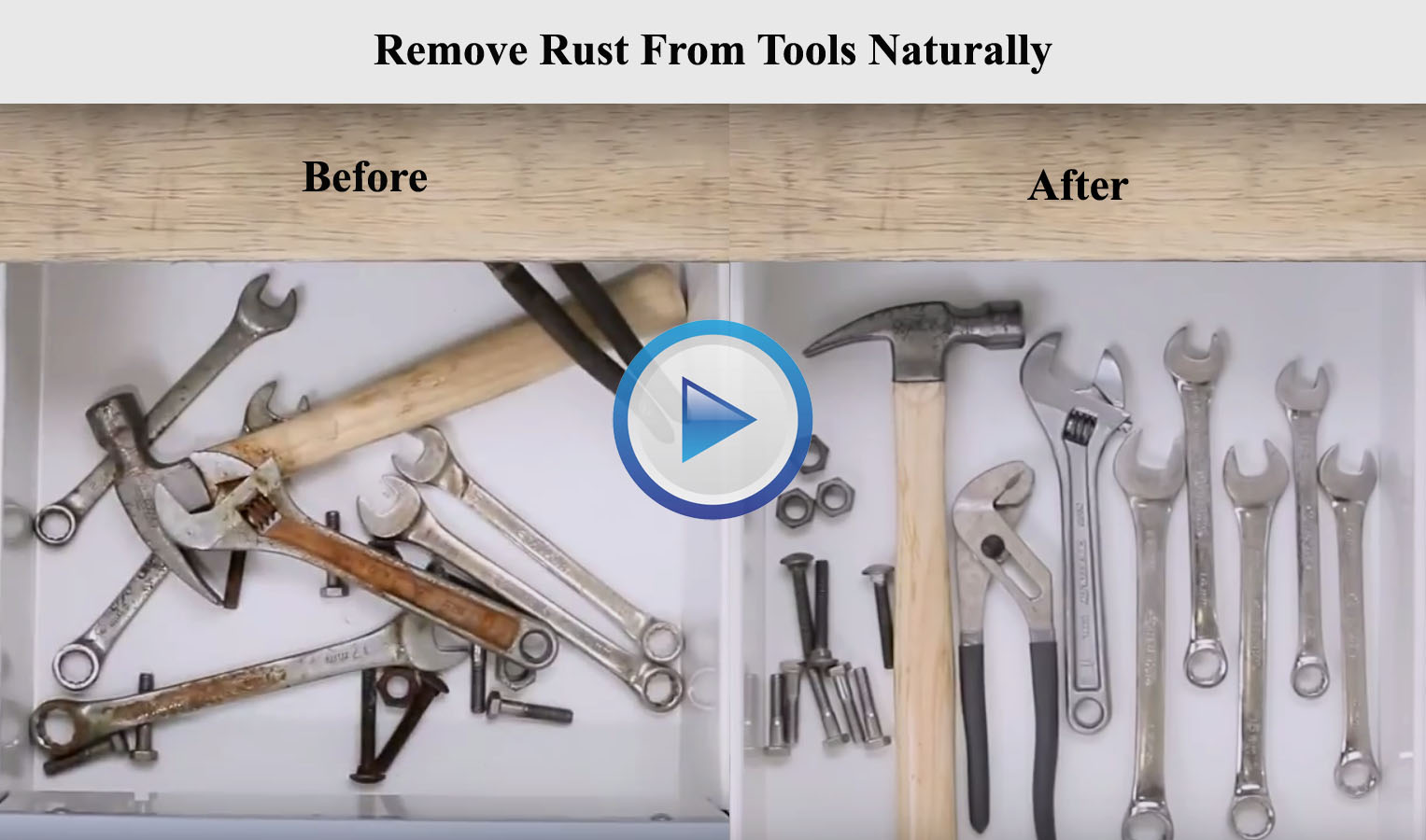 Remove Rust From Metal Naturally
