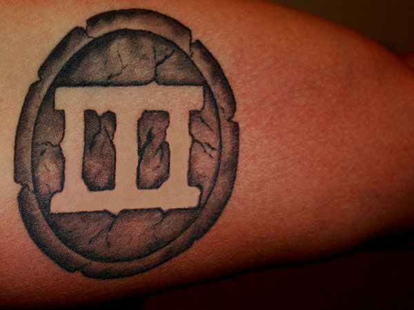 25 roman numbers tattoos