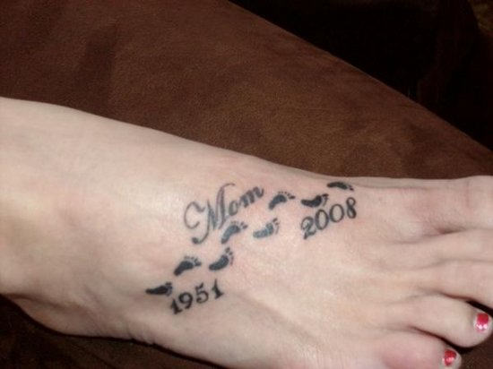 50 Remembrance Tattoos For Mom