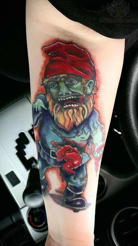 13 Spectacular Gnome Tattoo Designs