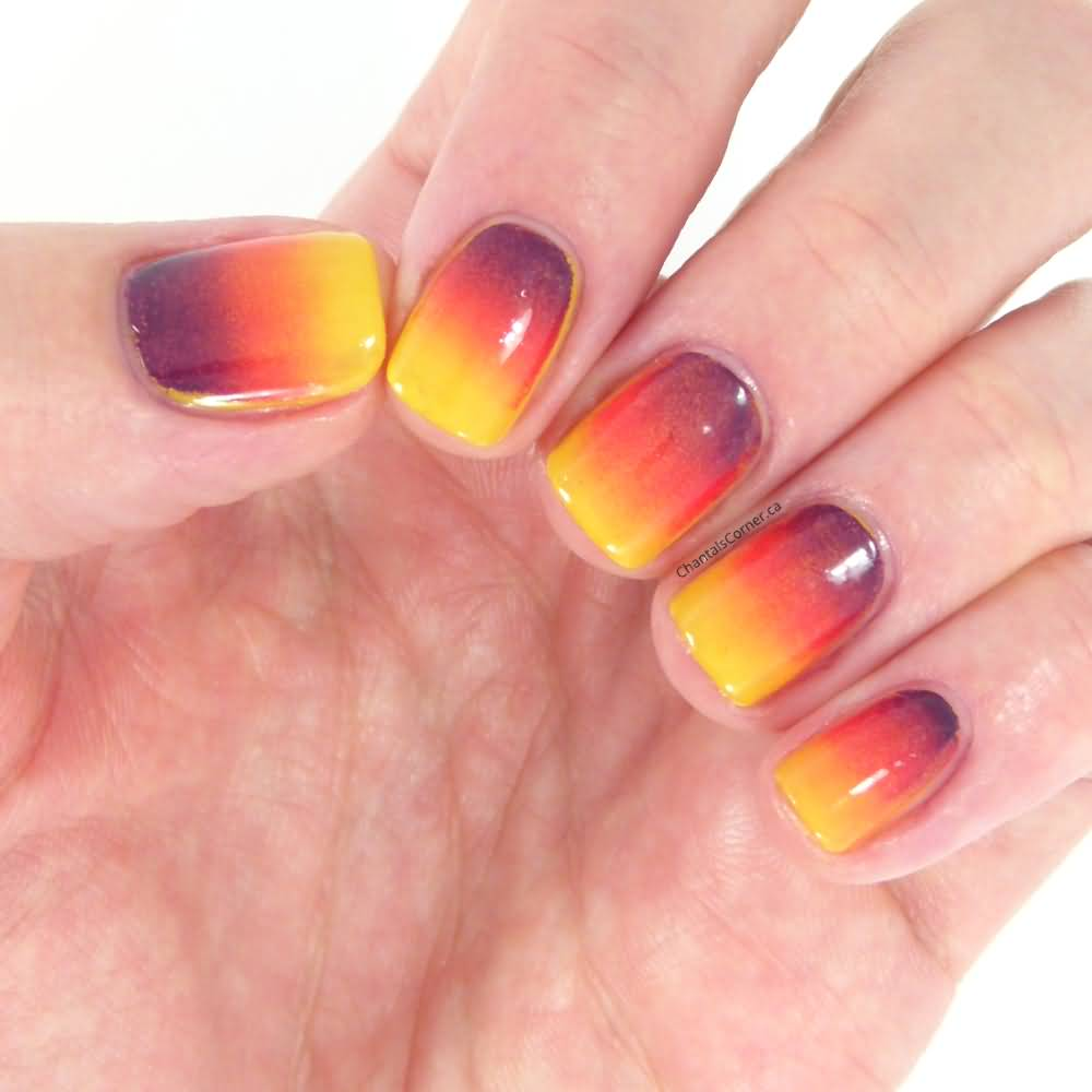 Gradient Nail Art: 55+ Most Stylish Gradient Nail Art Ideas