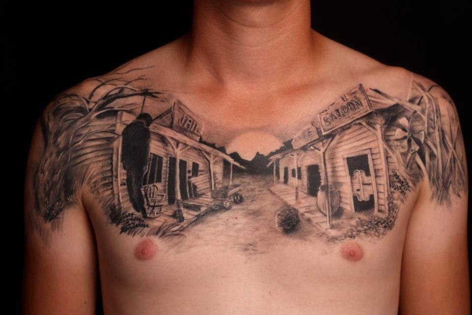 45 incredible western tattoos