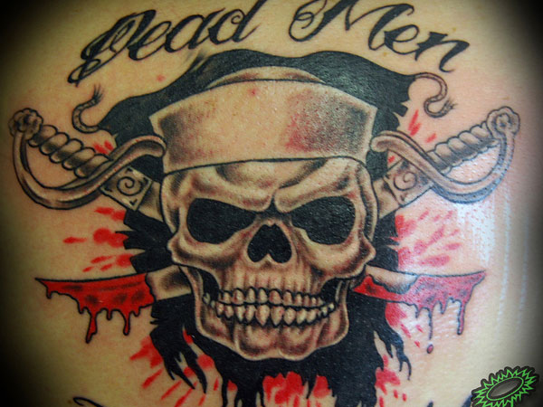 50 incredible navy tattoos ideas for Crossed swords tattoo
