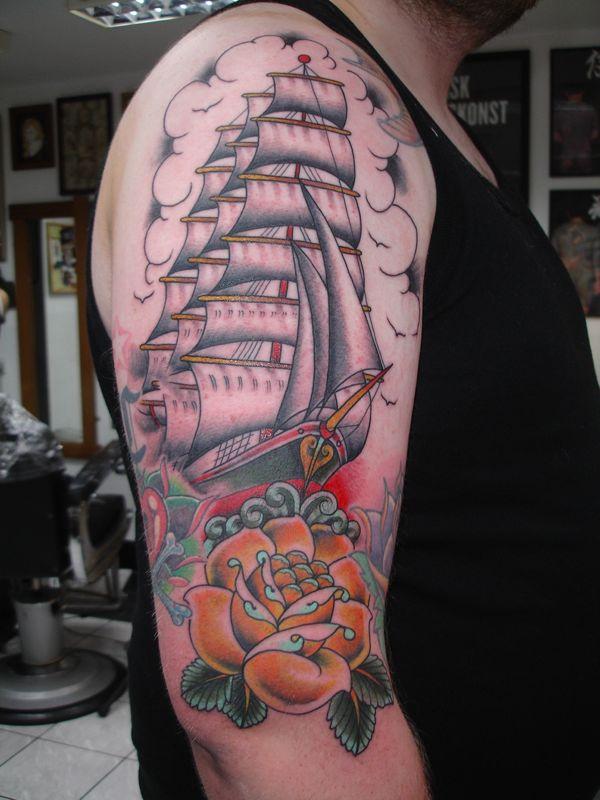 14 western tattoos on back