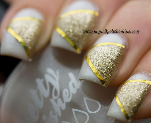 White nail art tape