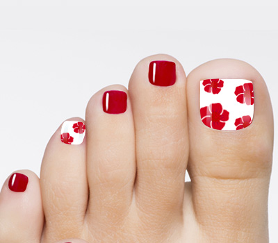 red and black toe nail art designs - Red And Black Toe Nail Art Designs Hession Hairdressing