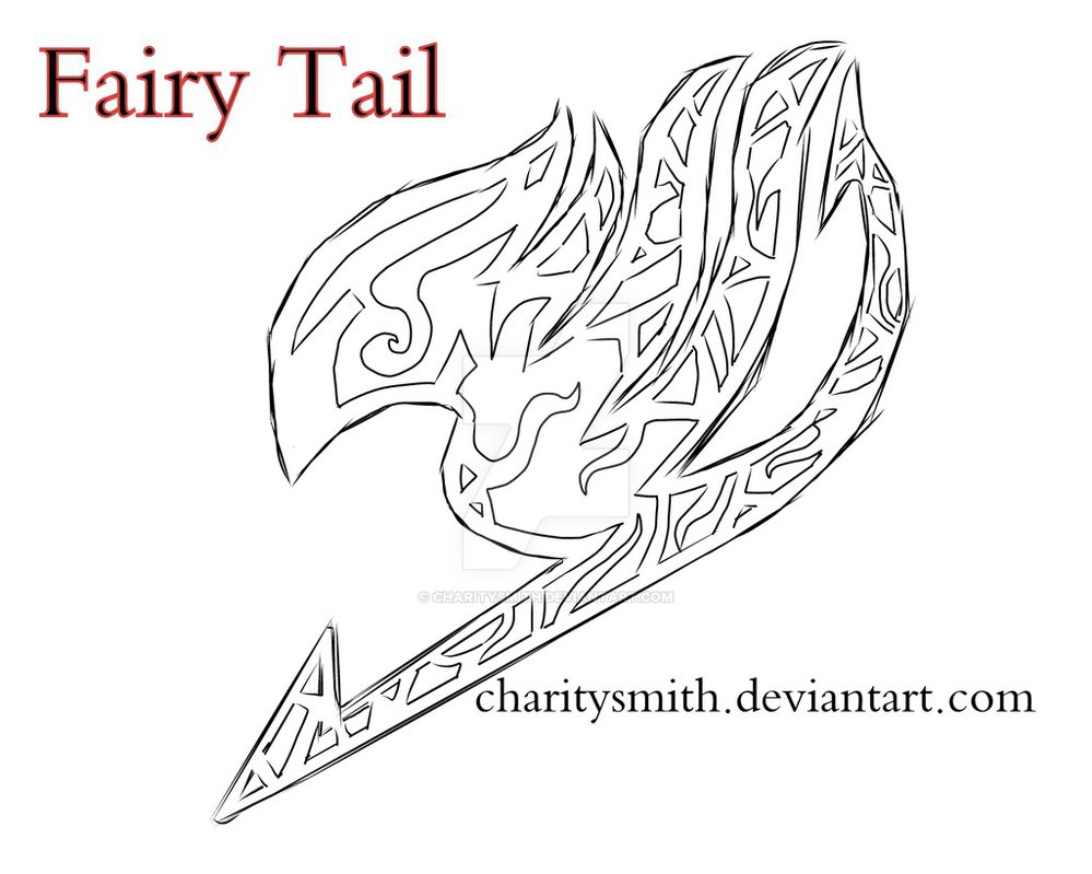 White tribal fairy tail tattoo sketch by charitysmith biocorpaavc Image collections
