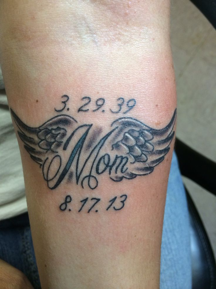 50 remembrance tattoos for mom for Small memorial tattoos