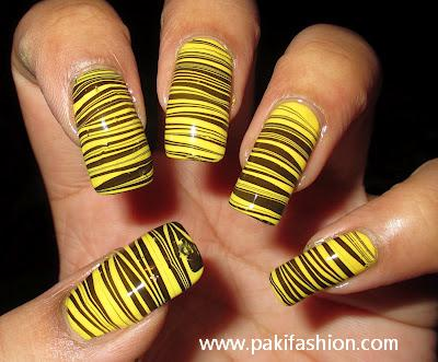 55 Latest Yellow Nail Art Designs