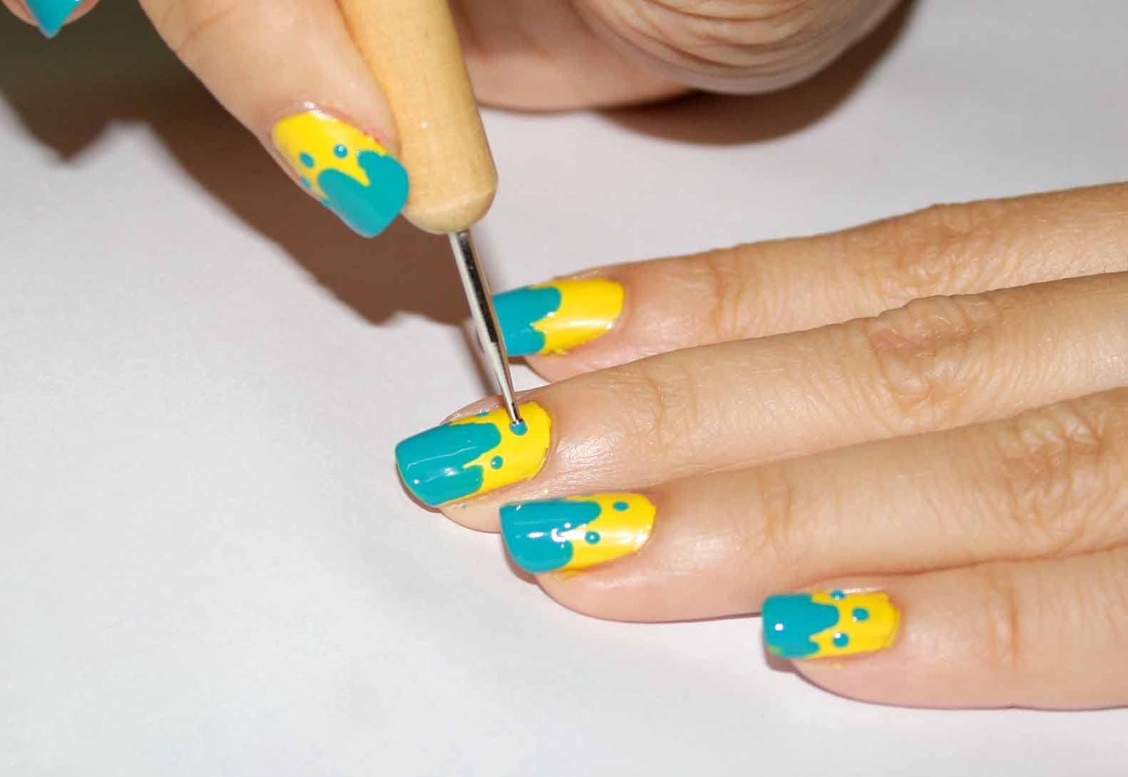 55 Most Beautiful Yellow Nail Art Design Ideas