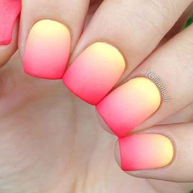 50 Most Beautiful Gradient Nail Art Design Ideas