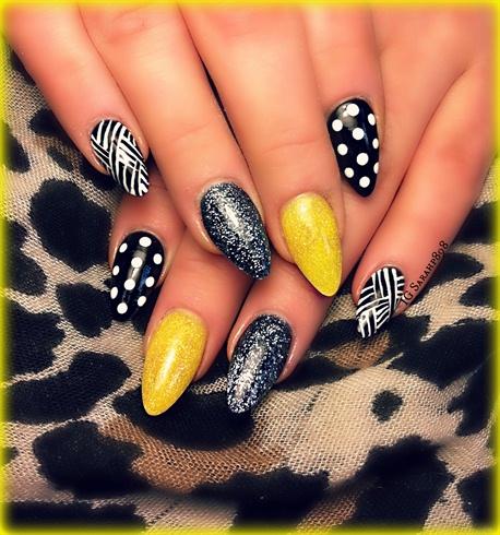 Gel Nail Polish Yellow Nails Hession Hairdressing