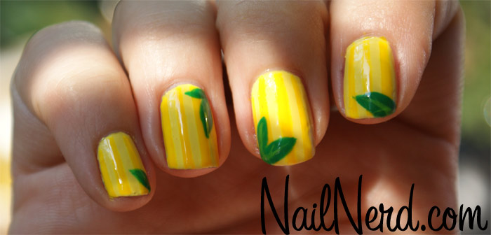 Nail Art Designs On Yellow Nail Polish Hession Hairdressing