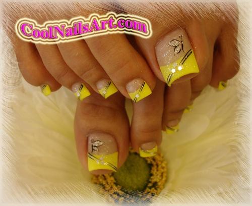 Yellow tip nail designs images nail art and nail design ideas yellow tip nail  designs choice - Yellow Tip Nail Designs Gallery - Nail Art And Nail Design Ideas
