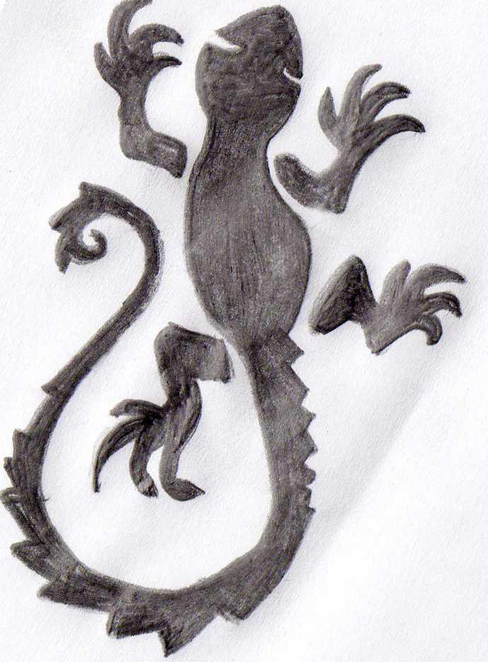 18 Latest Salamander Tattoo Drawings