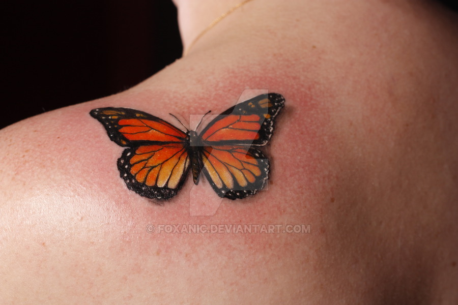 32+ Monarch Butterfly Tattoos Ideas