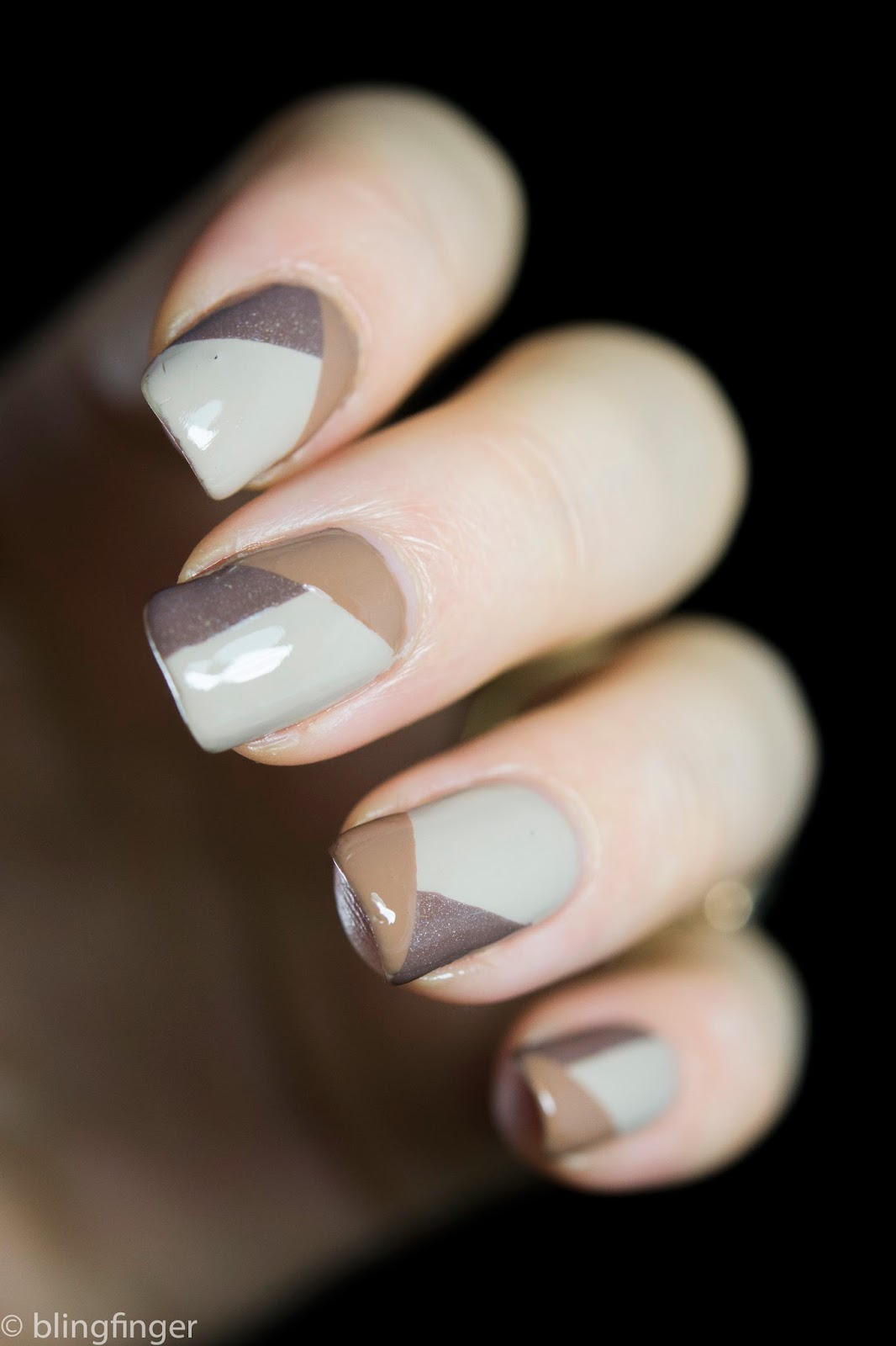 55 most beautiful beige nail art design ideas beige pattern design nail art idea prinsesfo Image collections