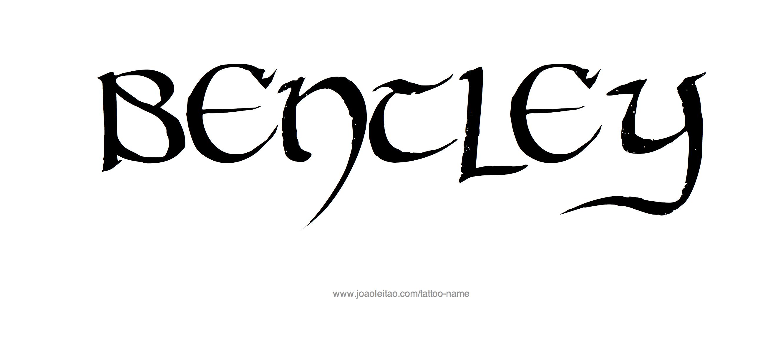 bentley tattoo designs bentley word tattoo design