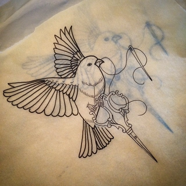 11+ Sewing Tattoo Designs