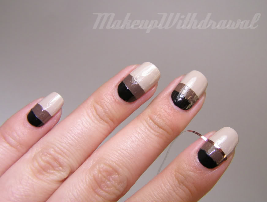 55 stylish brown nail art ideas black brown and beige design nail art prinsesfo Image collections