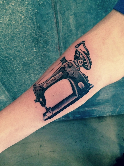 11 Sewing Spool Tattoos Ideas