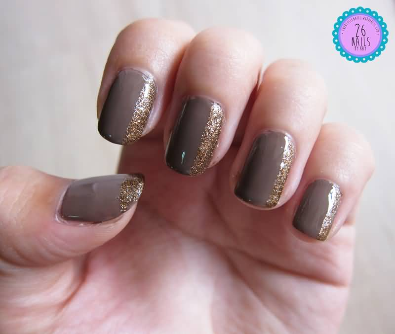 55+ Stylish Brown Nail Art Ideas