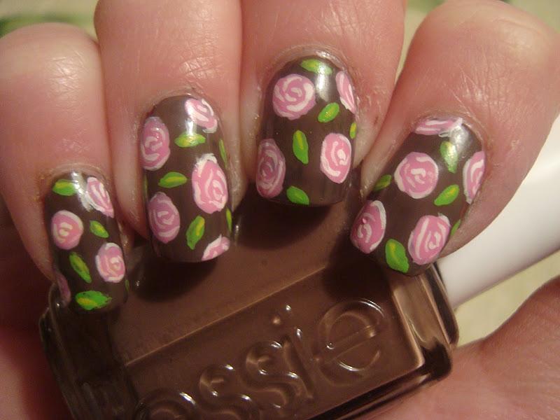 Nail art brown and pink choice image nail art and nail design ideas brown and pink nail art best nails art ideas prinsesfo choice image prinsesfo Image collections