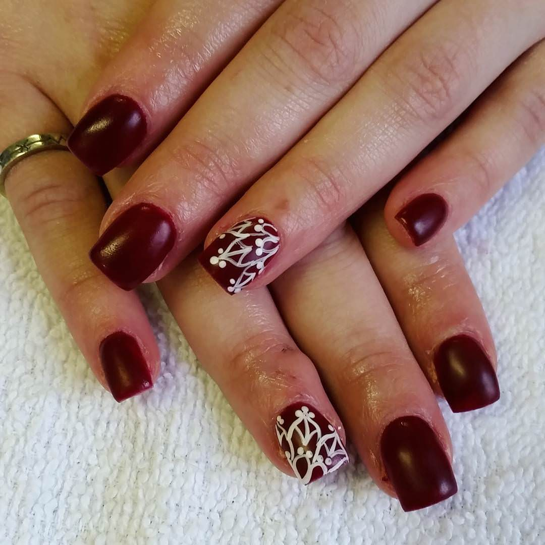 Simple Elegant Fall Nail Designs: 50+ Classy Brown Nail Art Design Ideas