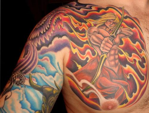 58+ Incredible Flame Tattoos