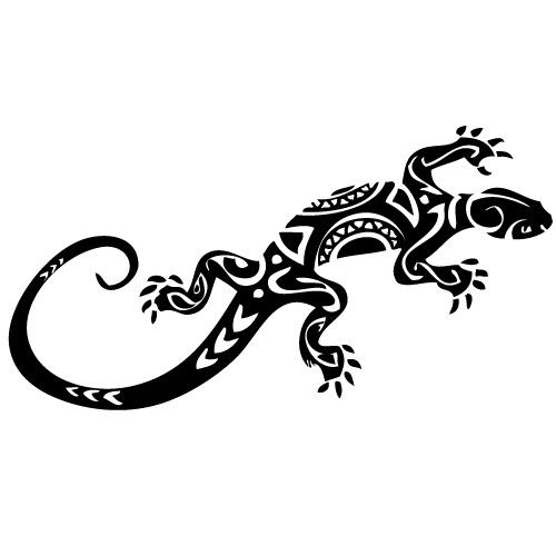 symbol eidechse