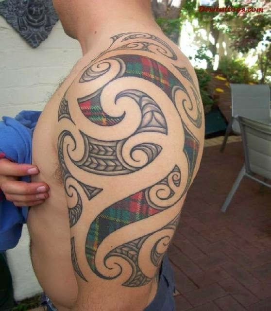 Scottish Celtic Tattoos For Men: 12+ Scottish Tattoos On Half Sleeve