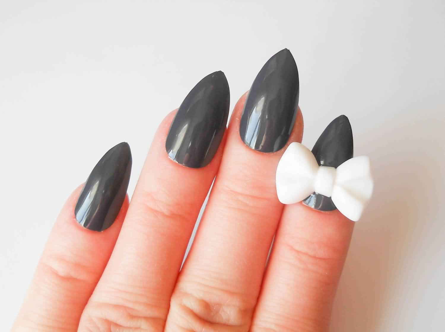Acrylic Nail Designs Gray: Best ideas about gray nails on shellac nail.