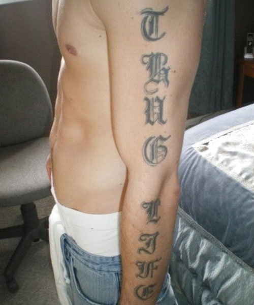 45 Amazing Thug Life Tattoos And Ideas