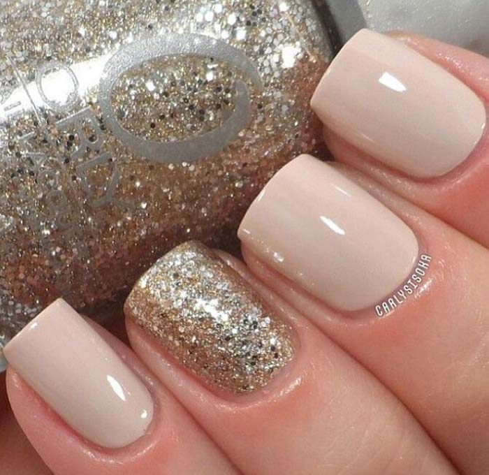 Brown And Beige Nail Designs