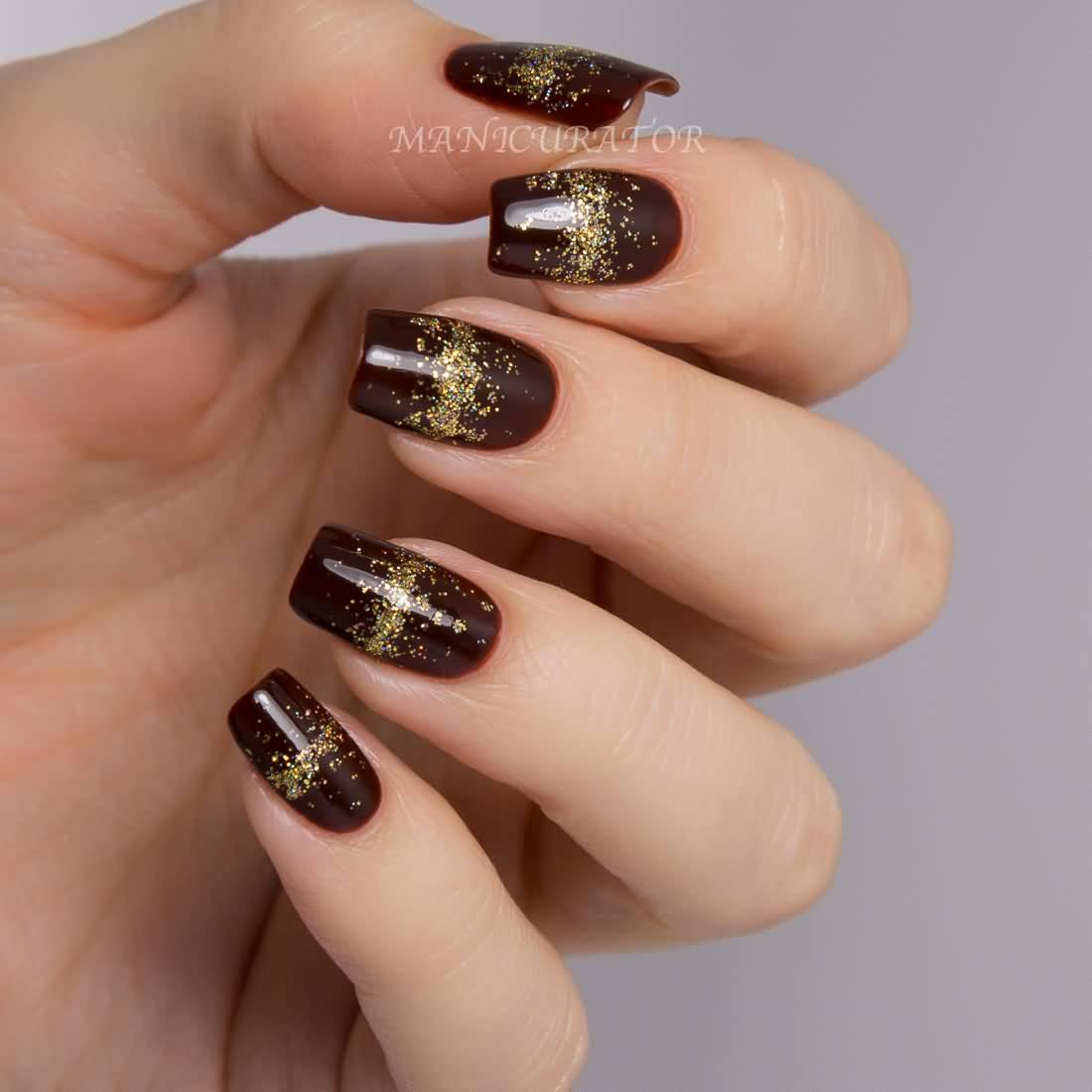 55 Stylish Brown Nail Art Ideas