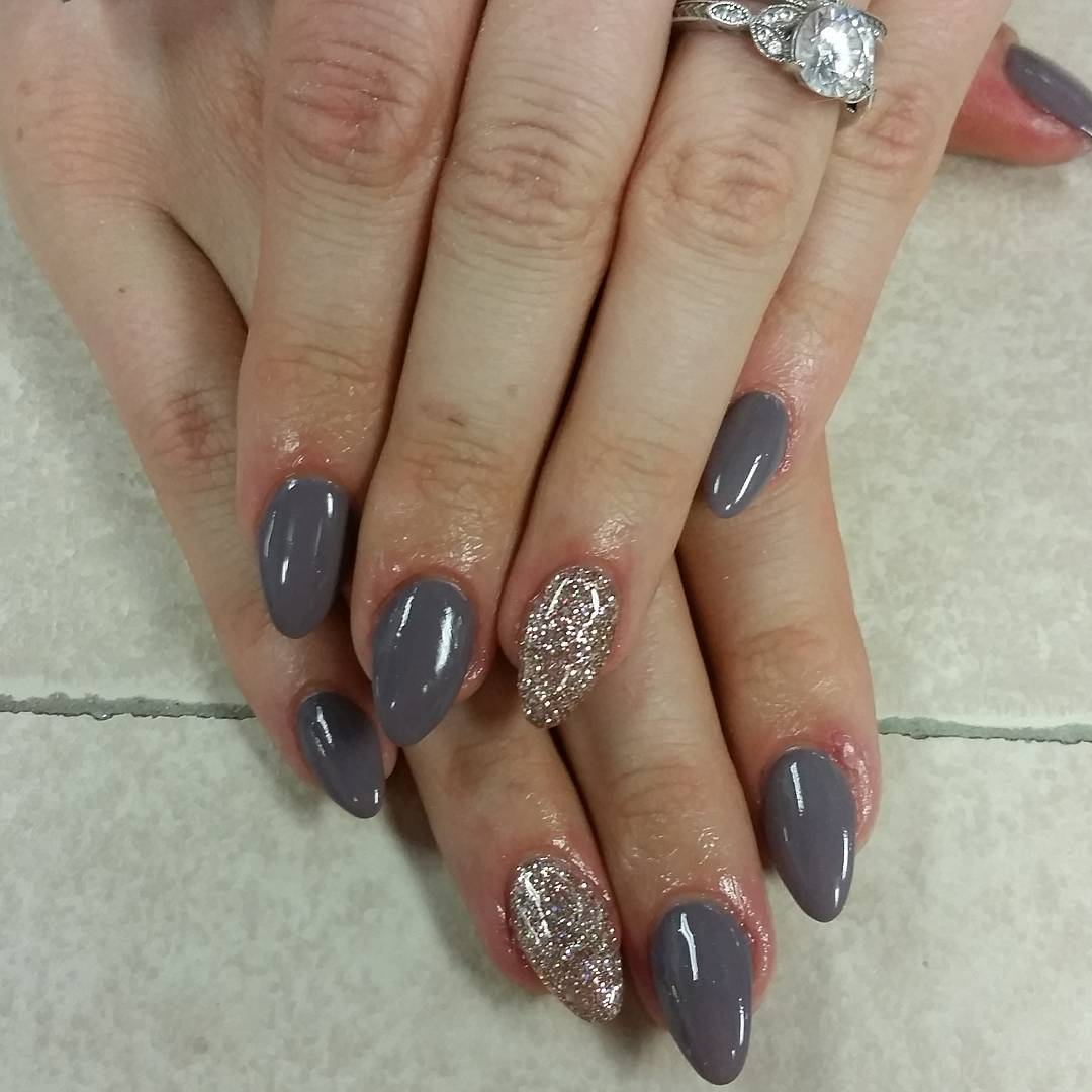 Pictures Of Grey Marble Bathrooms: 55+ Stunning Gray Nail Art Design Ideas